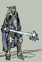 [Kzx Keyblade master armor] by Endless-warr
