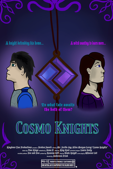 Cosmo Knights Movie Poster by BladeStar360
