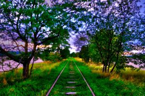 Ye old railroad 2 by Risigma