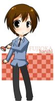 Ouran: Haruhi Bookmark by Michiko-GO