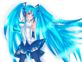 Miku Blue by Xp48