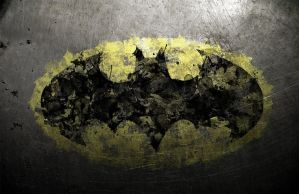 Batmansplatterlogo by BlindAcolyte