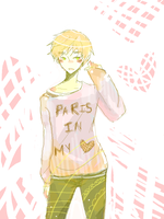 paris in my heart by kyunyo