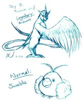 Pokedex Challenge: Day 18 - Favorite Bird by SailorAnime