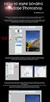 Photoshop Border Tutorial by Illogical-Lynx