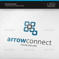 Arrow Connect Logo by artnook