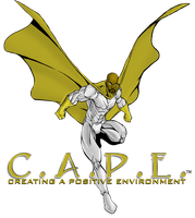 C.A.P.E. Logo New colors by JoeWillsArt