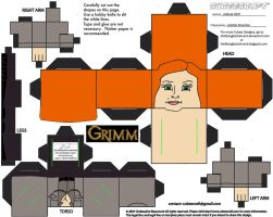 Grimm2: Juliette Silverton Cubee by TheFlyingDachshund