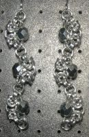 Chainmaille Earring 64 by Des804