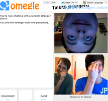 Creepy ass kid on omegle by Larry--Stylinson