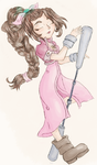 Aerith by AbyssinChaos