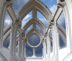 Future chapel background by indigodeep