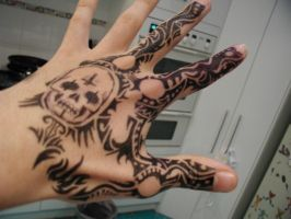 Tattoo Hand 13 by NickThomson