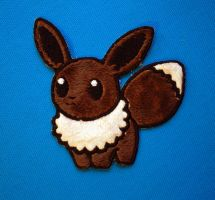Eevee Pokedoll Patch by TheHarley