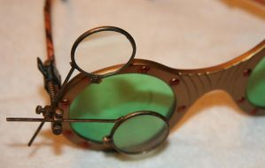 STEAMPUNK JEWELER'S LOUPE by JohnsonArms