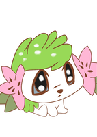 Shaymin by SilversThreads