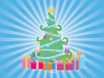 Christmas Tree and Gifts by HoneyCunt