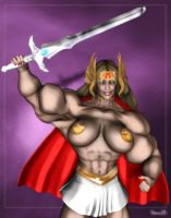 Goddessa or She-Ra2 by Stone3D by zenx007