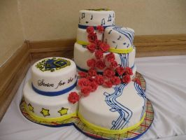 TBS KKY convention cake view 3 by cake-engineering