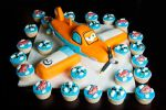 Planes Cake and Cupcakes by KayleyMackay