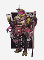 TMNT Donatello Animation by AlexRedfish