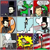 Abraham Lincoln IN SPACE 1 by feedmyleg
