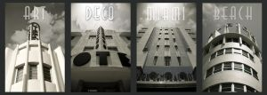 ART DECO MIAMI BEACH by DavidBenoliel