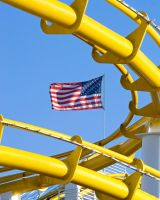 Yellow Rollercoaster 3253658 by StockProject1