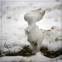 Snowman. Made by Nature... by Yancis