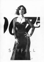 James Bond Skyfall Berenice Marlohe by TimGrayson
