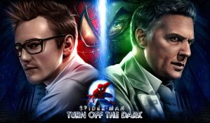 Spidey/Green Goblin by Sheridan-J