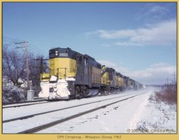 GP9 Christmas by classictrains