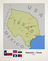 Alternate Republic of Texas by Kristo1594