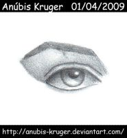 eye human by anubis-kruger