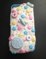 Decoden Frosted iPhone 5/5S Case- Pastel Blue by Xecax