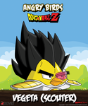 Vegeta (scouter)-Angry birds crossover by Brinx-dragonball