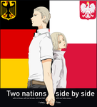 Two nations side by side by SoundOfColor