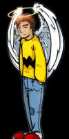 Charlie brown shirt guy by amichaels