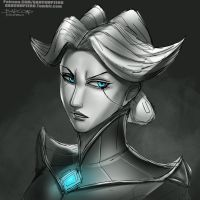 Camille Portrait : Quick sketch by BADCOMPZERO