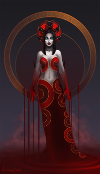 Empress vampire by Linum7