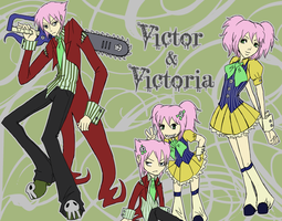 SB - Victor and Victoria by heavenlyjustice