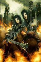 Jake and Jinxx by AndyBsGlove