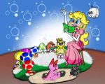 Peach Reads to the kids by wetsquirrel