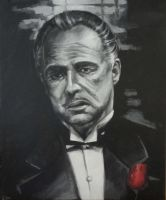 The Godfather by kenpaint