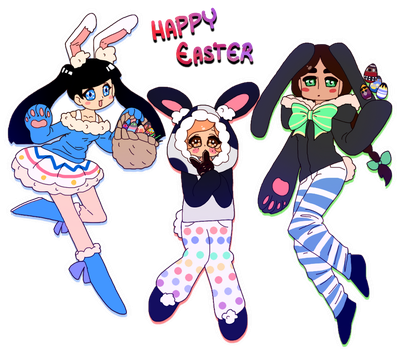 Happy Easter! by Punkichi