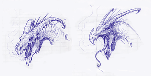 Skatch-Dragons by Camponotus