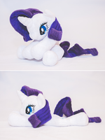 Rarity - Floppy Beanie Plush by tiny-tea-party