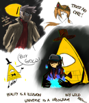 GravityFalls doodles by KnightNicole