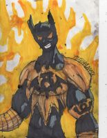 Batman Family Lantern: Batman Beyond by ChahlesXavier