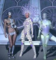 The Cybernetic Sisterhood by Hera-of-Stockholm